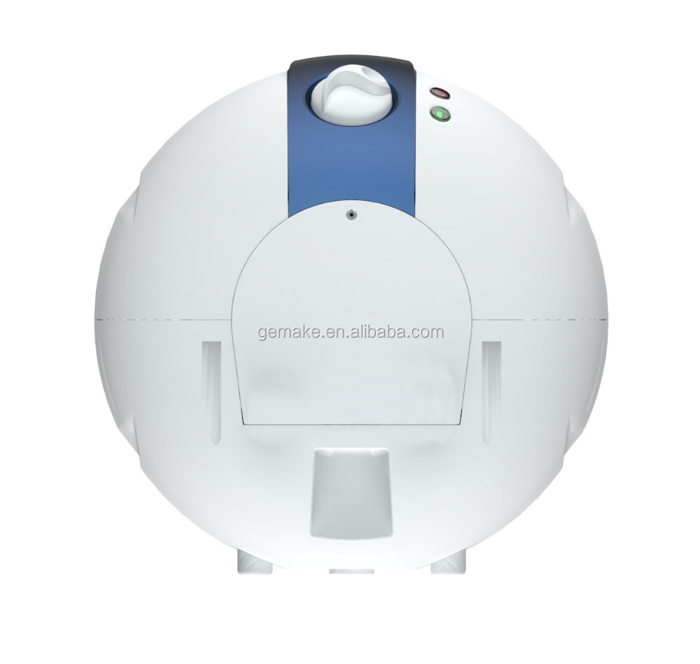 Oval shell plastic mini water heater with storage tank for Plastic water heater