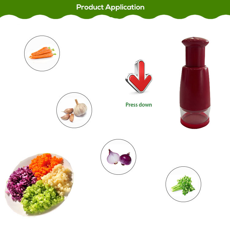 Multifunctional Kitchen Mini Onion Garlic Slicer Peeler Chopper Vegetable Shredder