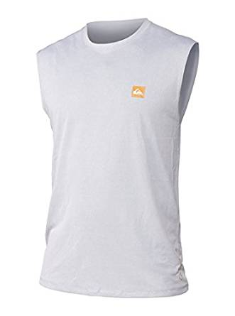 Quiksilver Waterman Snappers Tank Surf Shirt - White