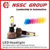 Easily Installation Good Dissipation H4 24W LED Headlight for vw polo headlight Conversion Kit