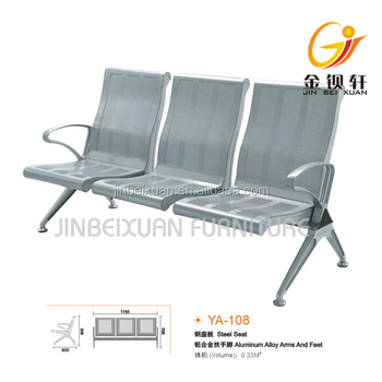 Pleasant Stainless Steel Bench Seat Bus Station Waiting Area Chair Hospital Airport 3 Seater Waiting Chair Modern Public Chair Ya108 Buy Salon Waiting Area Ocoug Best Dining Table And Chair Ideas Images Ocougorg