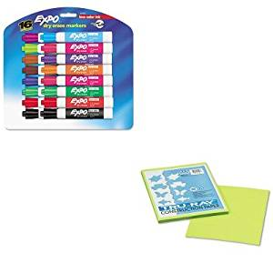 KITPAC103423SAN81045 - Value Kit - Pacon Tru-Ray Construction Paper (PAC103423) and Expo Low Odor Dry Erase Markers (SAN81045)