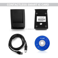 Best Seller ZCS-IC02 USB smart RFID Card encoder/reader, NFC card reader