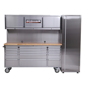 Stainless Steel Tool Cabinet/72 inch Gasage Tool Chest