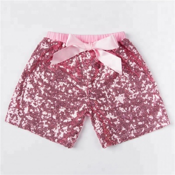 Factory Directly Sales Baby Sequin Shorts in Yiwu