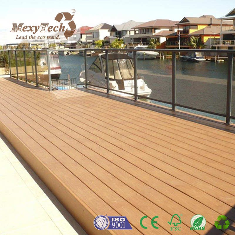 Outdoor Composite Decking Flooring Durable Wpc Flooring ...