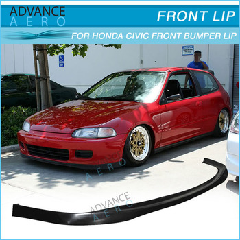 For 92 93 94 95 honda civic eg 23dr sir style pu front bumper lip for 92 93 94 95 honda civic eg 23dr sir style pu front bumper publicscrutiny Choice Image
