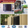 Soundproof window security screen wired