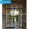 Proper price top quality cheap price simple iron security bifold steel door