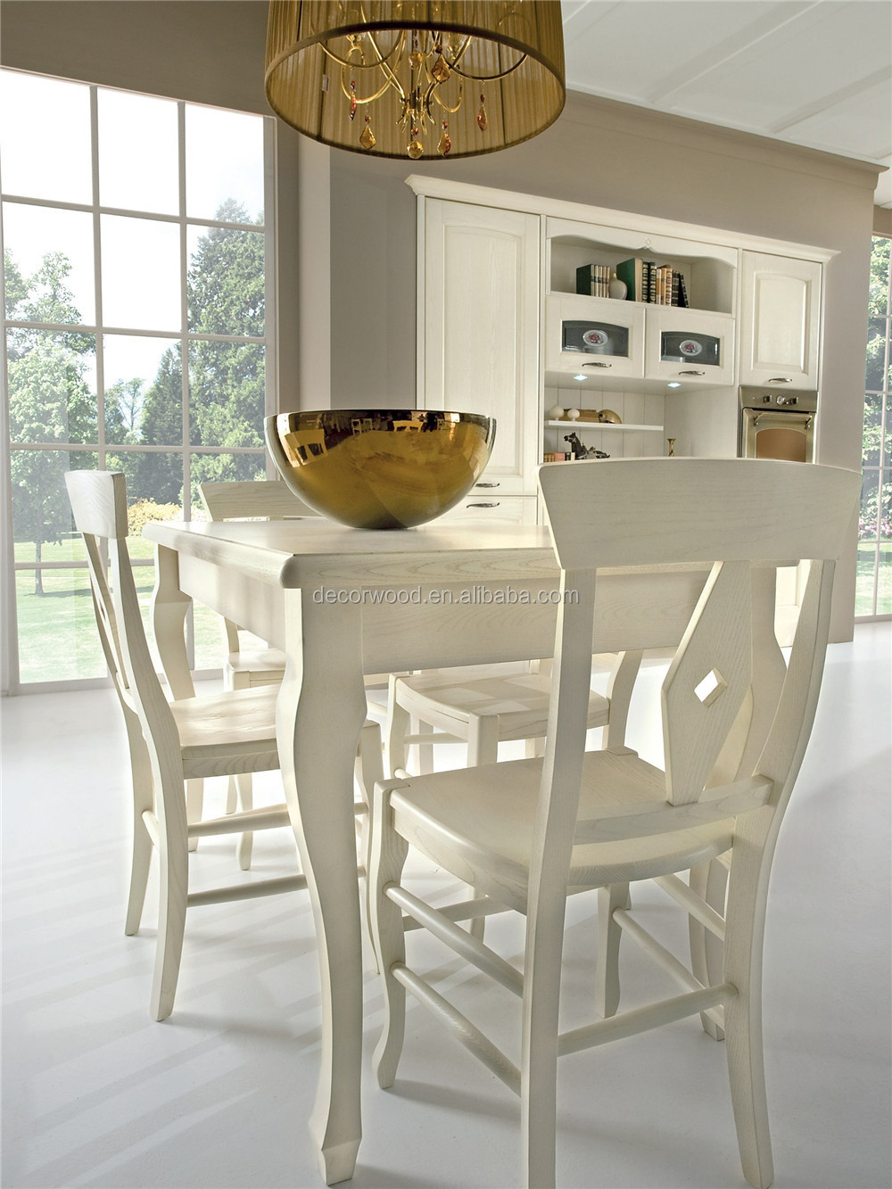 High Quality Solid Wood White French Kitchen Cabinets  Buy French
