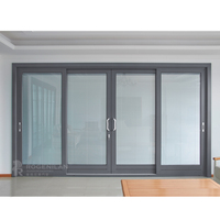 ROGENILAN 139 series best selling products American Style aluminum sliding doors interior room divider