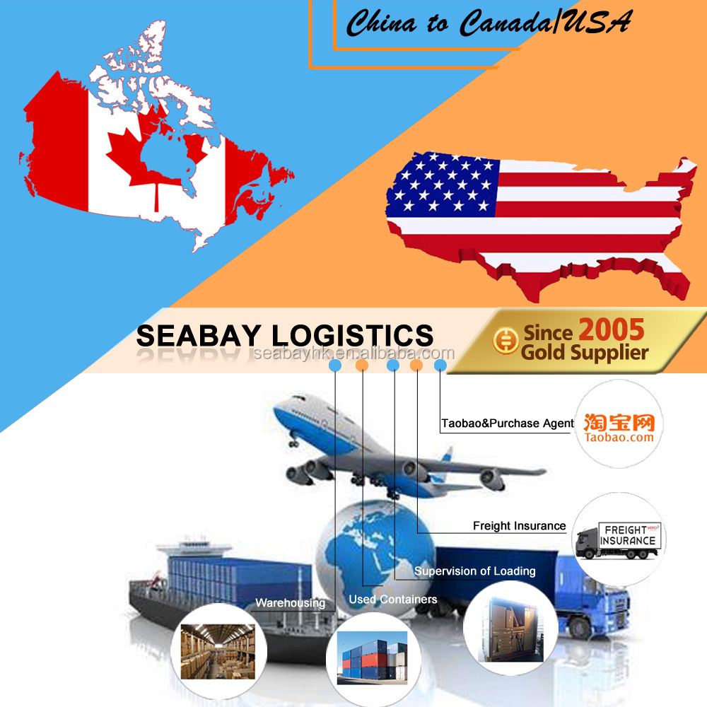 reliable freight forwarder china to canada