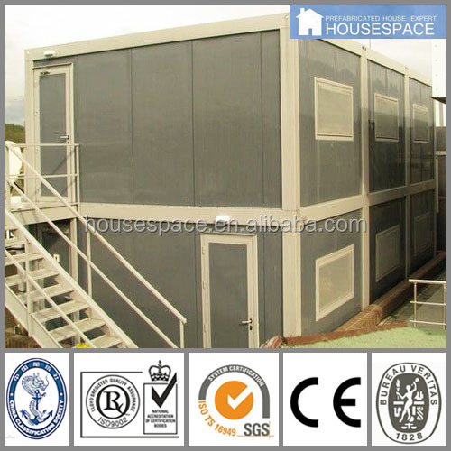 Sandwich Panel Modular Sea Shipping Container House For Office