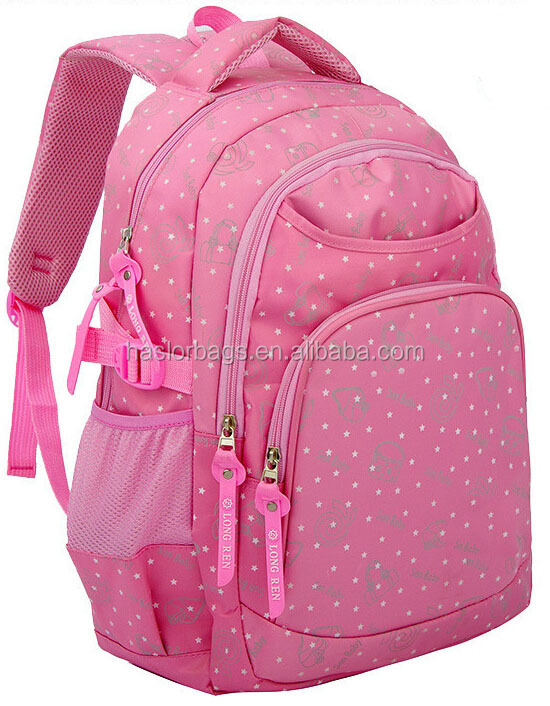 Cute Good Printing School Bag / Backpacks For High School Girl ...