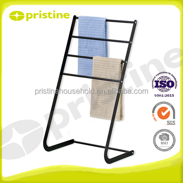 Bathroom furniture Accessories 4 tier freestanding stand towel rack
