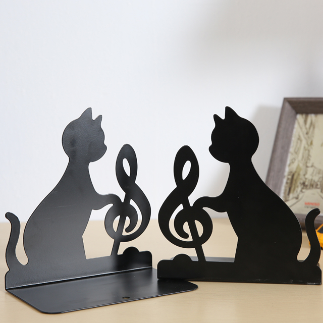 wholesale black stationery book reading stand steel book stand