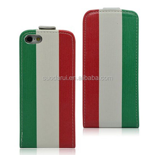 2014 World Cup Brazil National Flag Ultra Slim Leather Flip Cover for Apple iPhone 6 Case