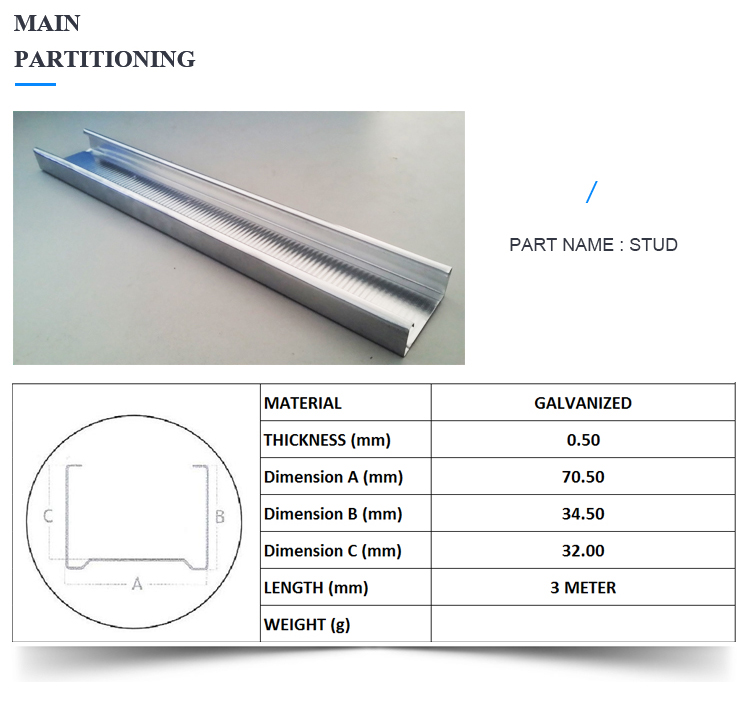 Best Price Steel Channel Making Machine for CD UD Profiles Roll Forming Machine