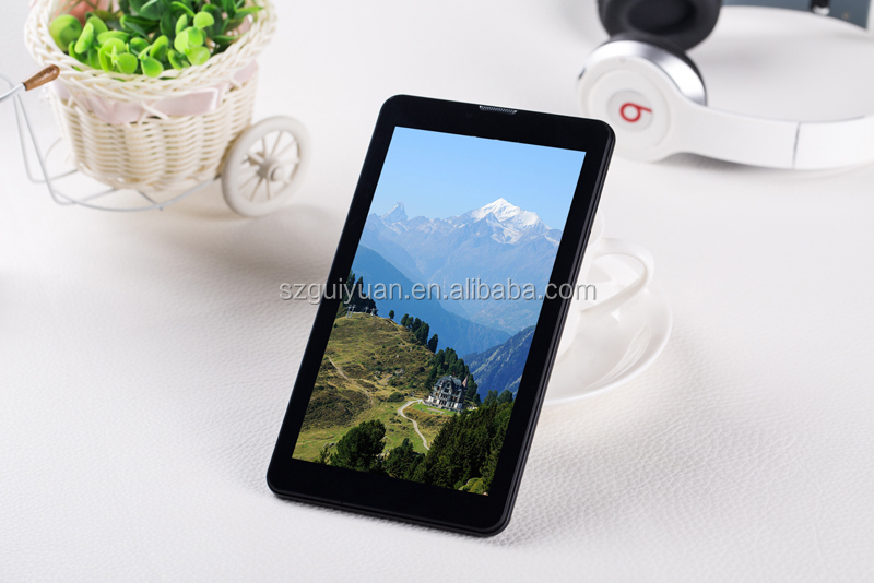 OEM 7 inch 1024x600 IPS Screen Quad Core Phablet 3G call GSM Phone Tablet PC