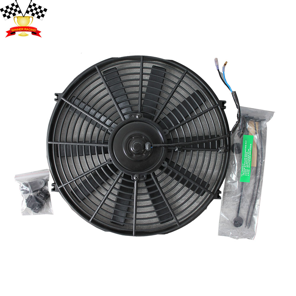 Customer Requested Sizes Auto Slim Electric Radiator Fan For E46
