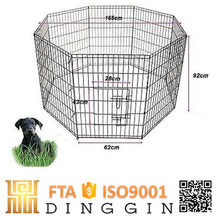 Lovely puppies folding dog playpen