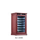 60-85 bottles capacity single zone freestanding wooden electric wine cooler wine cabinet