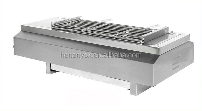 EB-580 Electric Smokeless Barbecue Grill Stainless Steel Electric BBQ Grill