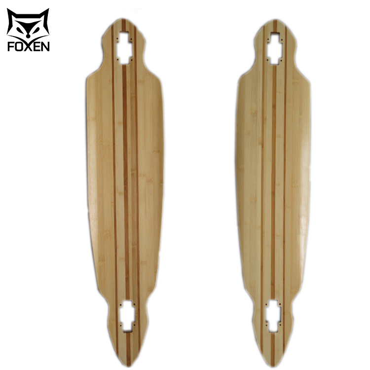 High Quality Original Uncut Wood Unfinished Blank Longboard Deck Wholesale