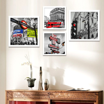New York City Modern European Architectural Decoration Painting Simple  Living Room Sofa Background Painting Wall Painting Frame - Buy Dining Room  ...
