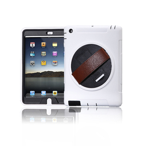 Advanced TPU PC Leather flip cover case for apple ipad 2 3 4 luxury tablet waterproof case with auto sleep and stand function