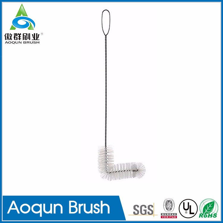 Multi-function 6 gallon plastic carboy brush