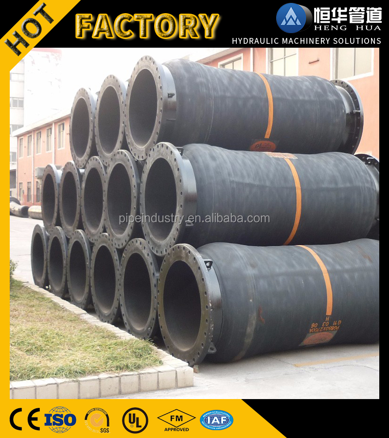 Dredging industry wear resistance ceramic rubber hose