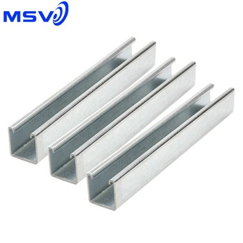 41x41x2 5 Plain Unistrut,3m And 6m Lengths - Buy 41x41x2 5 Plain,41x41x2 5  Plain Unistrut,41x41x2 5 Plain Unistrut In 3m And 6m Lengths Product on