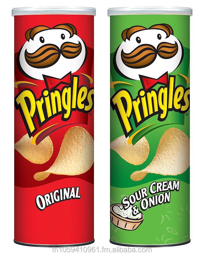 product detail Pringles Original Potato Crisps