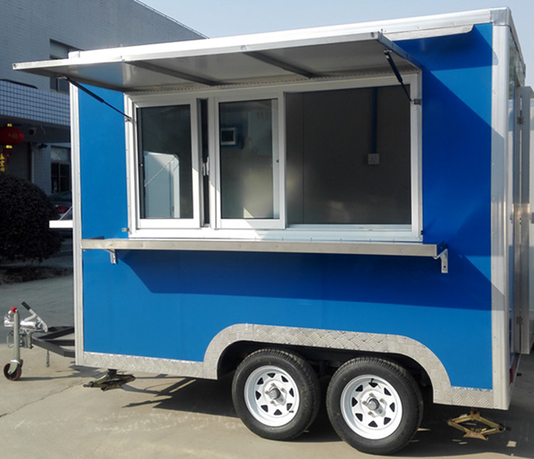 Factory Supply Cheap Price Fast Food Trailer Used Trucks Mobile For