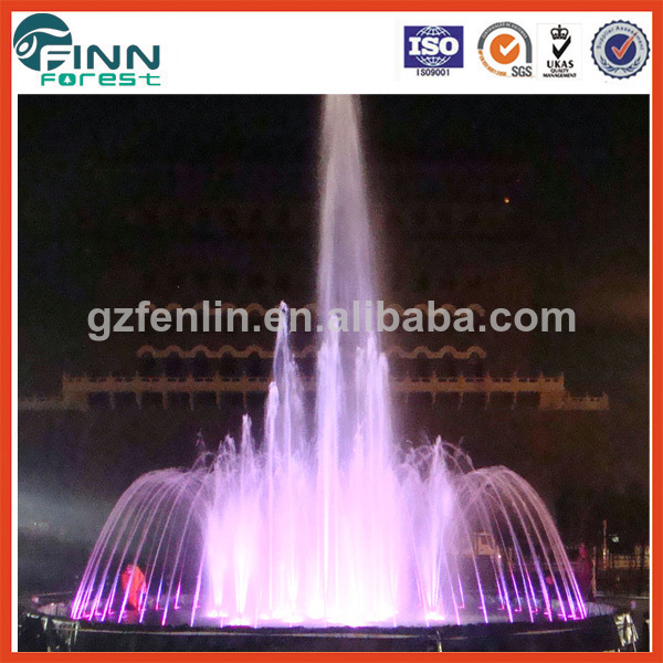 Customized Colorful Stainless Steel Water Fountain Mold