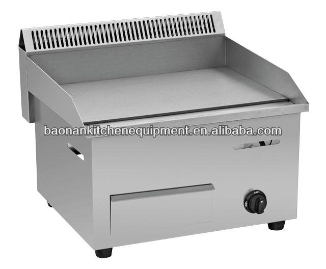 Industrial stainless steel gas griddle equipment for sale( BN-718)