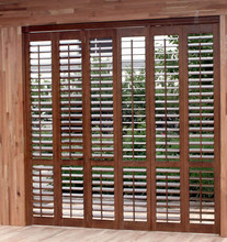 2016 discount DIY interior shutters wood house shutters