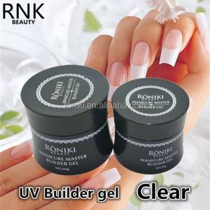 NEWEST RNK ensured top quality nails polish builder uv/led gel provide private label OEM services