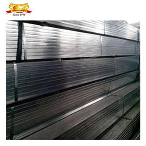 RHS hollow section Galvanized rectangular steel pipe