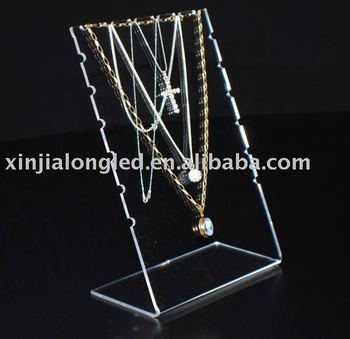 Multi Chain Display Or 3mm Acrylic Necklace Display Or Acrylic ...
