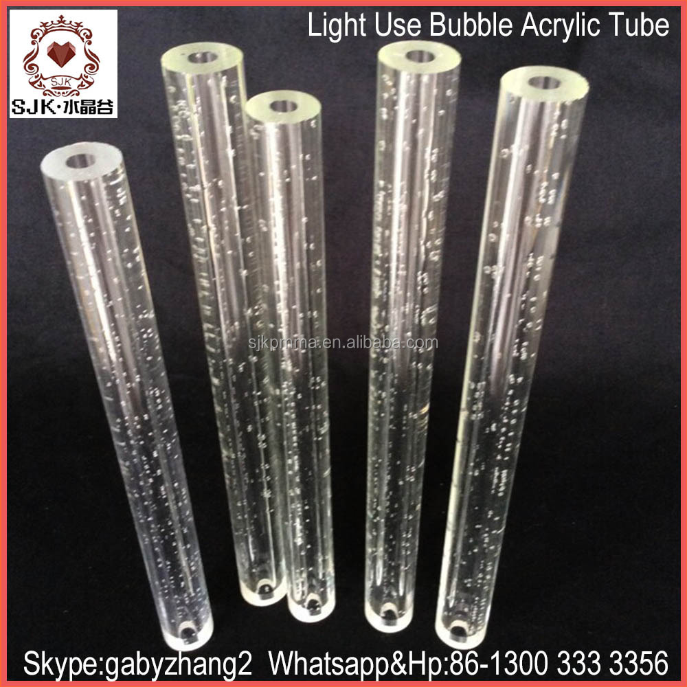 bubble acrylic tube for decoration acrylic pipe for lamps buy bubble acrylic tube decoration. Black Bedroom Furniture Sets. Home Design Ideas