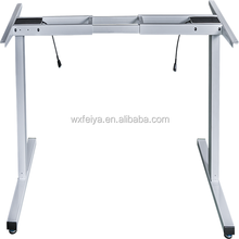 height adjustable computer workstation,electric 3 stages standing desk for PC/notebook