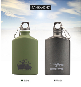 2017 hot selling 500ml travel water bottle Promotional Custom Metal Aluminum cosmetic Sports Water Bottle