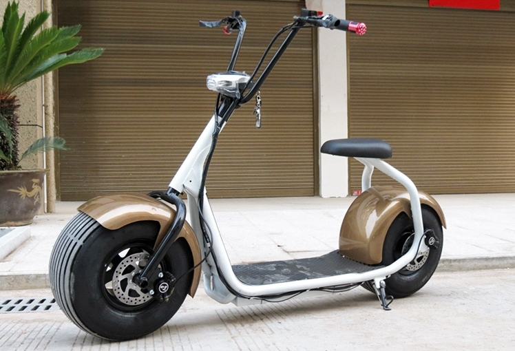 alibaba hot sale fat tire 1000w big wheels halley city coco electric scooter