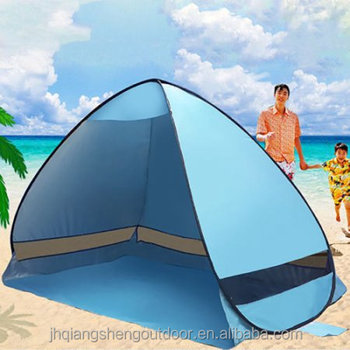 Pop Up Portable Cabana Beach Canopy Shelter Infant Sand Automatic Tent Sun Shade Camping Outdoor