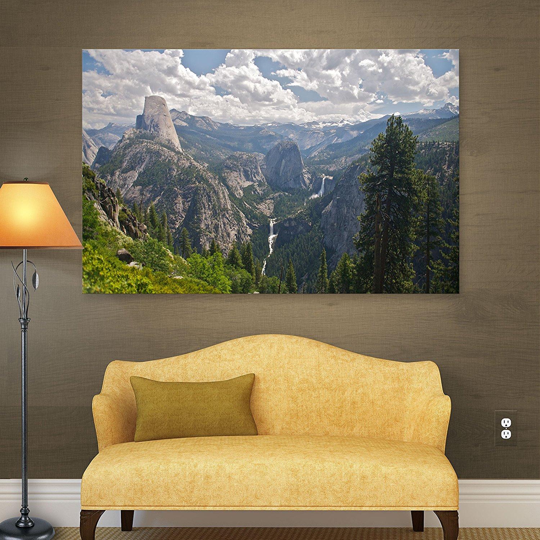 20 By 28 Inch Artwall Mountain Meadow Flat Unwrapped Canvas Art By Dan Wilson