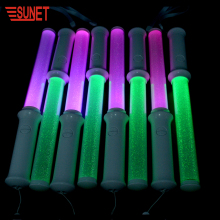 SJ- ST600 China Factory New Products Custom 2.4G Dmx RGB Led Flashing Light Stick, Wireless Remote Controlled Led Glow Sticks