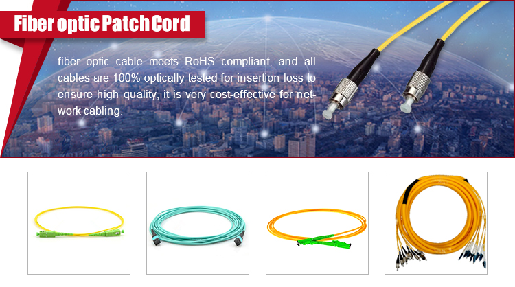 High Quality Waterproof fiber optic cable
