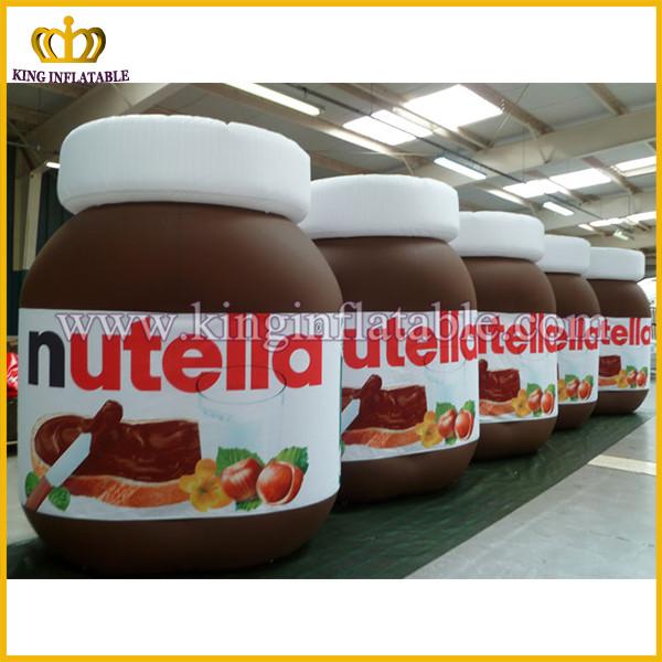 g ant gonflable nutella pot bouteille publicit gonflable r plique bouteille mod le pour vente. Black Bedroom Furniture Sets. Home Design Ideas